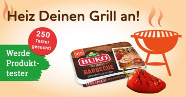 Schmeiß den Grill an mit Arla Buko Barbecue und werde Produkttester