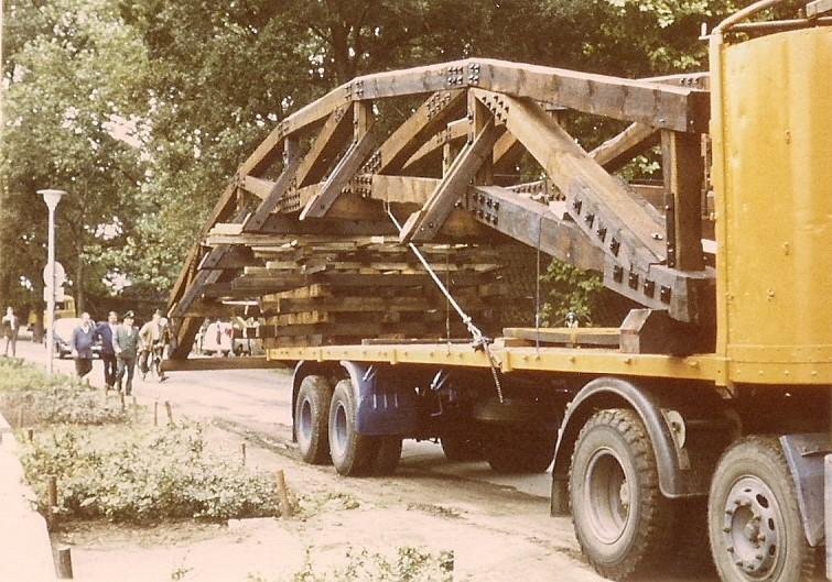 Bau Brücke Loemühle 1