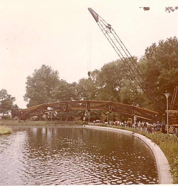 Bau Brücke Loemühle 2