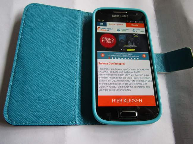 Gewinnspiele Mobil Auf Dem Smartphone