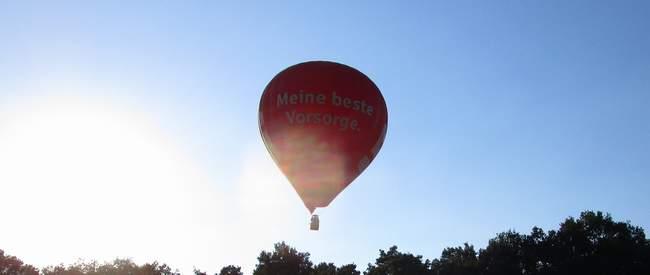 Heißluftballon fahren in Marl
