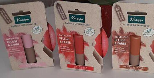 Die farbige Lippenpflege von Kneipp®