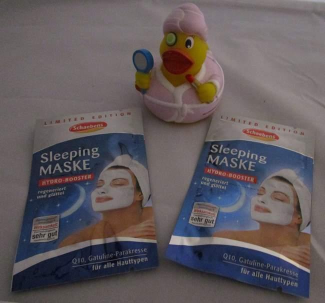 Schaebens Sleeping Maske
