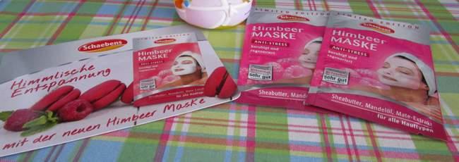 Schaebens Himbeer-Maske