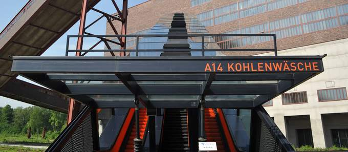 Extraschicht 2012 – Licht an! Pressetermin Essen Zeche Zollverein