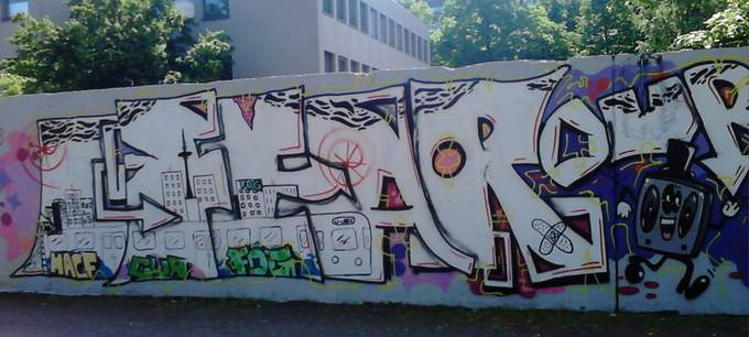 neue Graffiti in Marl