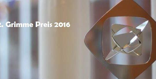 52. Grimme Preis – die Nominierungen