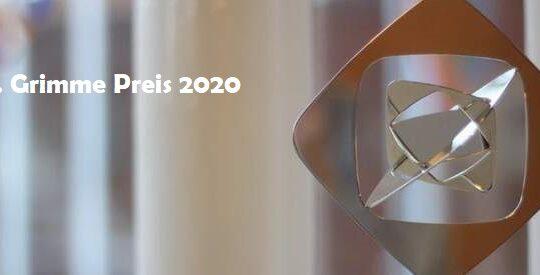 56. Grimme Preis 2020 – die Preisträger