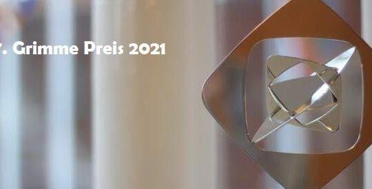 Nominierungen 57. Grimme Preis 2021