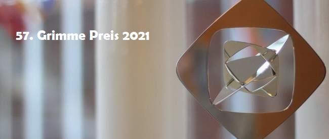 Die Preisträger des  57. Grimme-Preis 2021